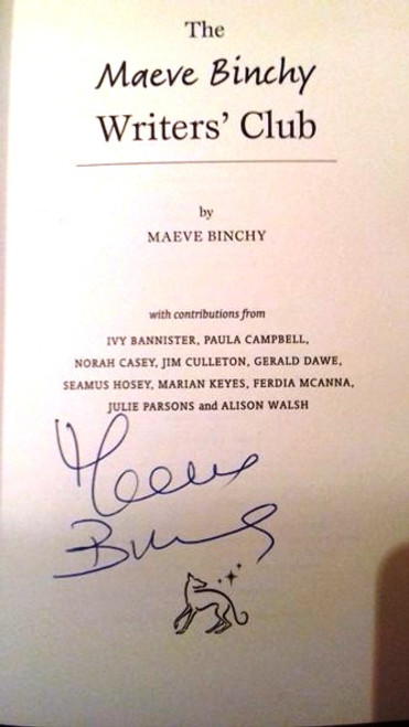 Maeve Binchy / The Maeve Binchy Writers' Club (Paperback) (Signed by the Author)