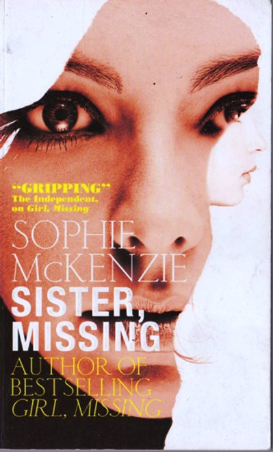 Sophie McKenzie / Sister, Missing (Paperback) (Signed by the Author)