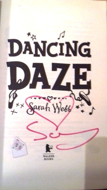Sarah Webb / Ask Amy Green: Dancing Daze (Paperback) (Signed by the Author)