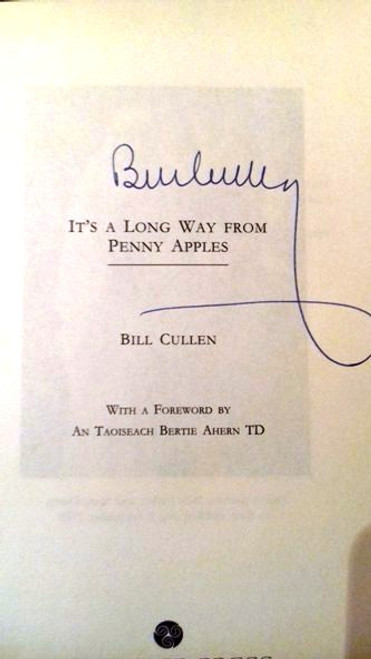Bill Cullen / It's a Long Way from Penny Apples (Paperback) (Signed by the Author)