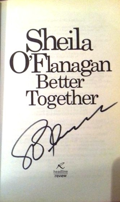 Sheila O'Flanagan / Better Together (Paperback) (Signed by the Author)