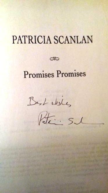 Patricia Scanlan / Promises Promises (Large Hardback) (Signed by the Author)