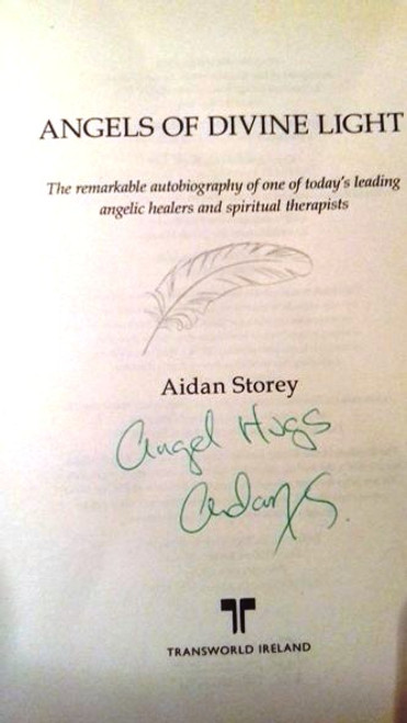 Aidan Storey / Angels of Divine Light (Large Paperback) (Signed by the Author)