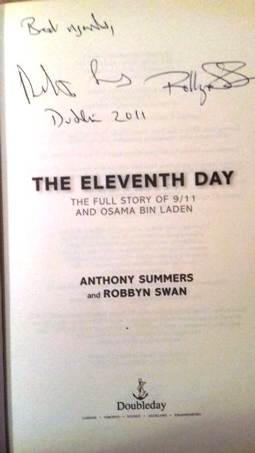 Anthony Summers / The Eleventh Day (Large Paperback) (Signed by the Author)