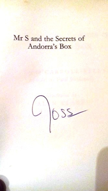 Ross O'Carroll-Kelly / Mr S and the Secrets of Andorra's Box (Large Paperback) (Signed by the Author)