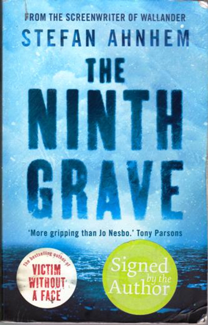 Stefan Ahnhem / The Ninth Grave (Large Paperback) (Signed by the Author) (2)