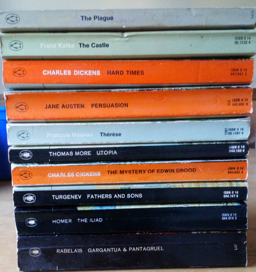 Vintage Penguin Classics 10 BOOK LOT - Classics , English Classics  & 20th Century Classics