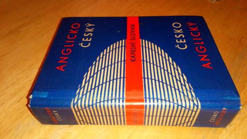 Hais, Karel - Czech-English-Czech Dictionary HB Pocket sized Cesko Anglicky