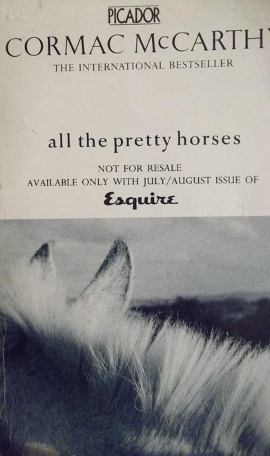 McCarthy, Cormac / All The Pretty Horses