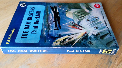 Paul Brickhill - THE DAM BUSTERS Vintage 1st Pan PB 1954 WWII RAF Bombers