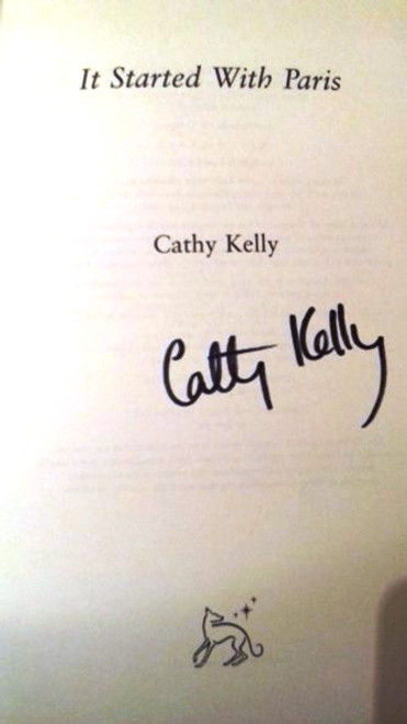 Cathy Kelly / It Started With Paris (Large Hardback) (Signed by the Author)