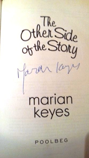 Marian Keyes / The Other Side of the Story (Large Hardback) (Signed by the Author)