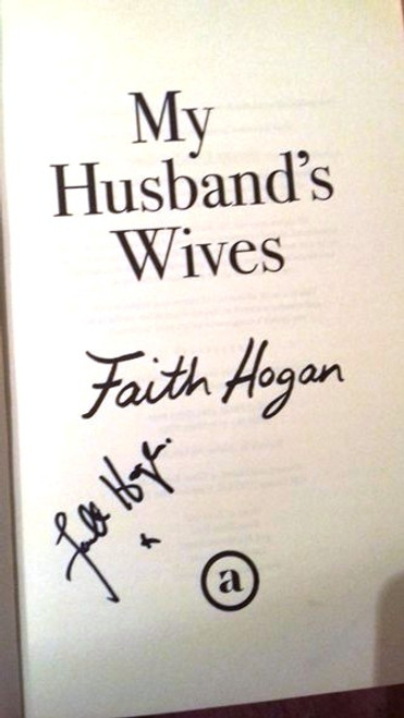 Faith Hogan / My Husband's Wives (Large Paperback) (Signed by the Author)