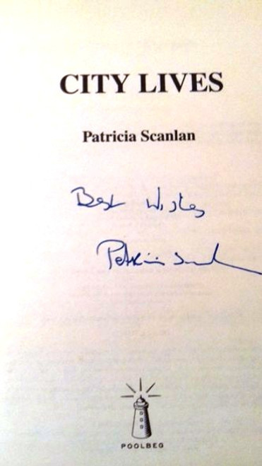Patricia Scanlan / City Lives (Large Hardback) (Signed by the Author)