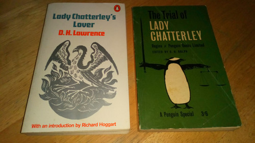 Lawrence, D.H - Lady Chatterley's Lover  & The Trial of Lady Chatterley 1961 Vintage Penguin