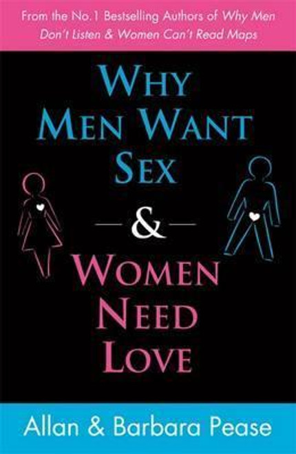 Pease, Allan & Barbara / Why Men Want Sex and Women Need Love (Large Paperback)