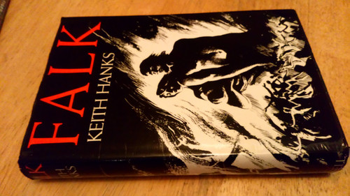 Hanks, Keith - Falk  UK 1st ed 1972 'End of Days' SF