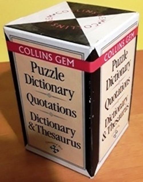 Collins Gem (Complete 3 Book Box Set)