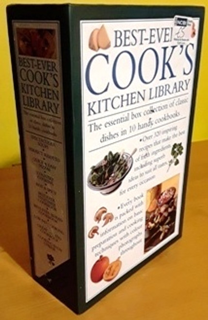 Best Ever Cook's Kitchen Library (Complete 10 Book Box Set)