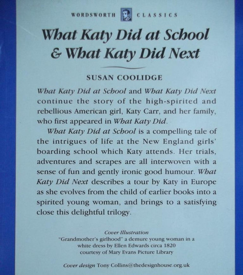 Coolidge, Susan / What Katy Did At School / What Katy Did Next