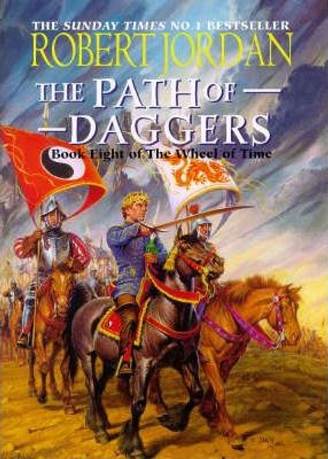 Jordan, Robert / The Path of Daggers (Large Hardback) ( Wheel of Time, Book 8 )