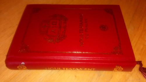 Noul Testament cu Psalmii - HB Bible Romanian 2008 Gift Ed New Testament Bible