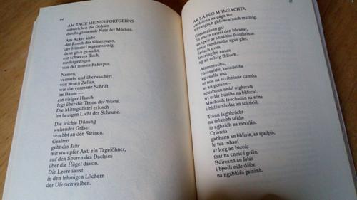Huchel, Peter & Rosenstock , Gabriel - An Spealadóir Pólanach Dual Language As Gaeilge & Deutsch Poetry SIGNED