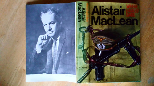 MacLean, Alastair - Where Eagles Dare - HB 1st Ed 2nd Imp Collins 1967 WW2