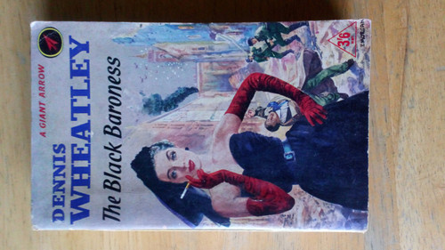 Wheatley, Dennis - The Black Baroness - Vintage 1st Arrow Paperback  Sallust