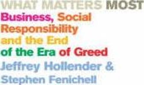 Hollender, Jeffrey / What Matters Most (Medium Paperback)