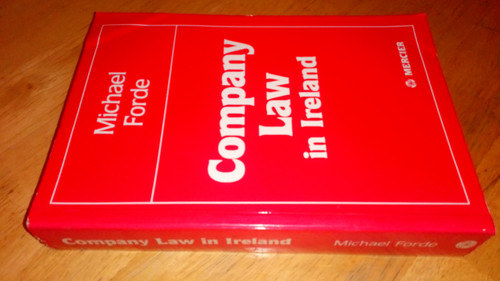 Forde, Michael - Company Law in Ireland 1st Ed revised 1987