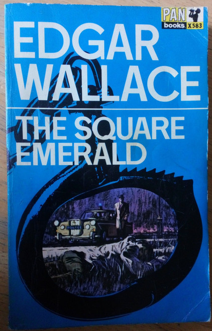Wallace, Edgar - The Square Emerald - Vintage Pan PB 1966 Ed