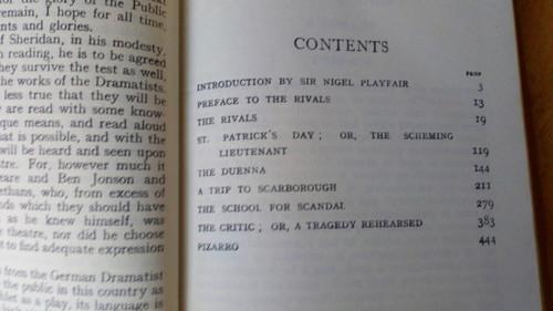 Sheridan, Richard Brinsley - Complete Plays - Vintage Collins Pocket Classic ED