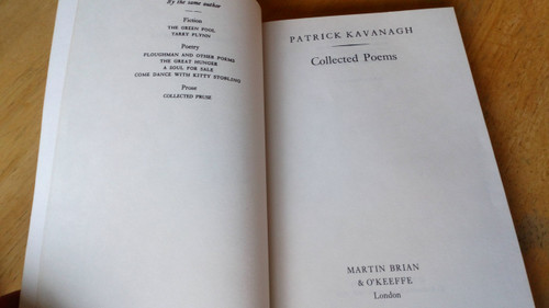 Kavanagh, Patrick - Collected Poems - PB Ed 1984 Reprint - Monaghan