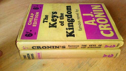 Cronin, A.J - 2 Book Lot - Keys of the Kingdom & The Green Years - Vintage Gollancz HB