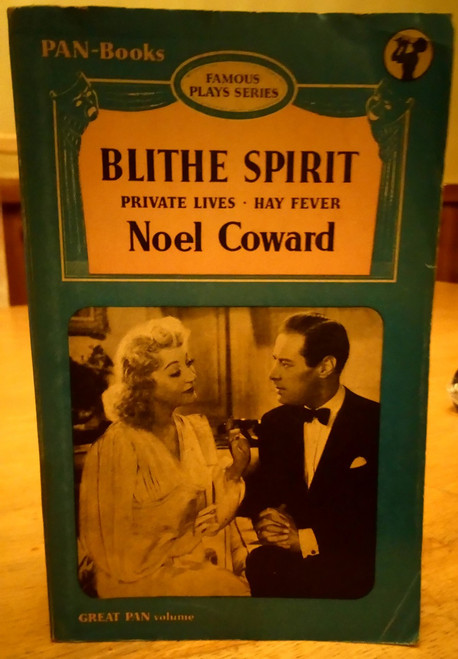Coward, Noel - 3 Plays : Blithe Spirit, Private Lives  & Hay Fever - Vintage Pan PB 1954
