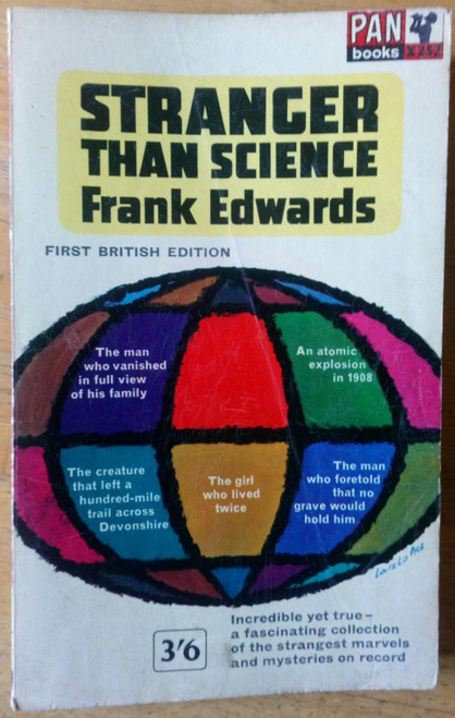 Edwards, Frank - Stranger than Science - Vintage Pan PB 1963- Unexplained Mysteries