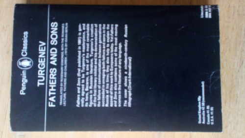 Turgenev, Ivan - Fathers and Sons - Vintage Penguin Classics PB Ed 1978