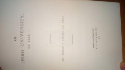 Mac Fhinn, Pádraig Eric - An tAthair Mícheál P Ó hIceadha - HB 1974 1st Ed - As Gaeilge