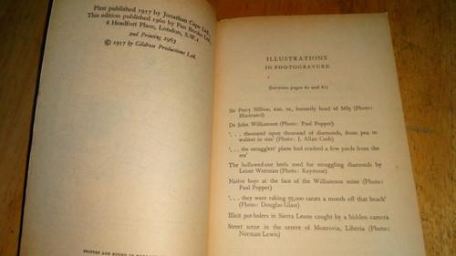 Fleming, Ian - The Diamond Smugglers - Vintage Pan PB ED 1963
