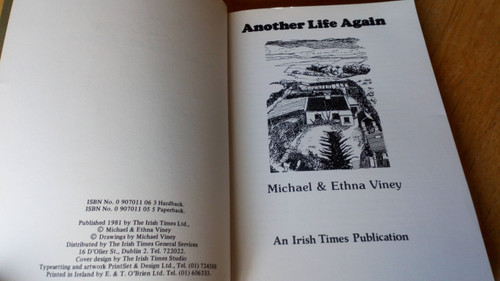 Viney, Michael & Ethna - Another Life Again - PB 1981 - Mayo - Irish Times - Rural Life