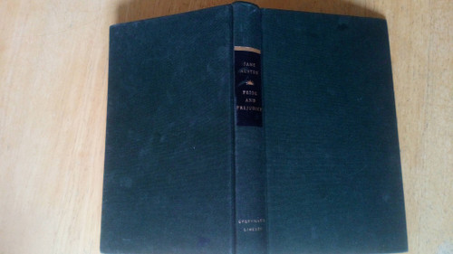 Austen, Jane - Pride and Prejudice - HB Everyman's Library Classic