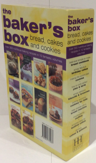 The Baker's Box: Bread, Cakes and Cookies over 300 nutritious baking recipes in 10 fantastic volumes  (10 Book Box Set)