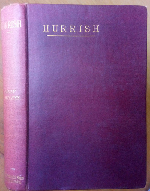 Lawless, Emily - Hurrish : A Study - 3rd Ed - 1887 - County Clare Novel