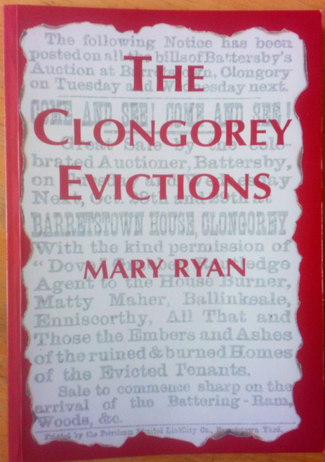 Ryan, Mary - The Clongorey Evictions - SIGNED PB 1st Ed - Kildare Local History 19th Century - Land war