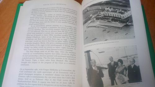 Boylan, Henry - White Sails Crowding : A History of the Royal Irish Yacht Club - HB 1994