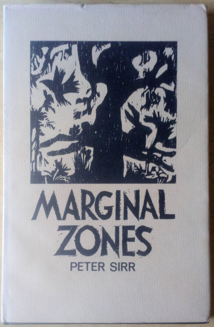 Sirr, Peter - Marginal Zones - HB Signed - Gallery Press debut 1st 1984 Poetry