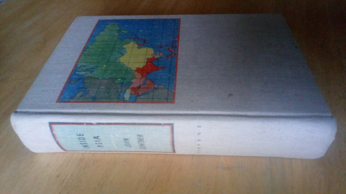 Gunther, John - Inside Asia - HB 1st ED 1939 - Travel and Politics