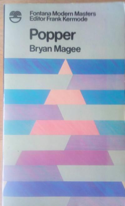 Magee, Bryan - Karl Popper - Fontana Modern Masters Philosophy - Vintage PB - 1973