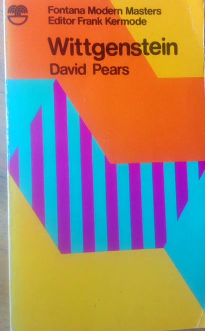 Pears, David - Ludwig Wittgenstein - Modern Masters of Philosophy - Vintage Fontana PB 1979
